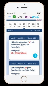 GiroWeb Mobilephone